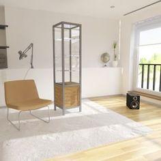 Γυάλινη Βιτρίνα Καταστήματος με ανοιγόμενη πόρτα και αποθηκευτικό χώρο Entryway Bench, Divider, Room, Furniture, Home Decor, Cabinets, Entry Bench, Bedroom, Hall Bench