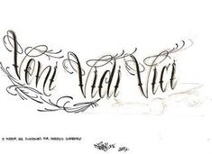 veni vidi vici tattoo - I came, I saw, I conquered Bing Images