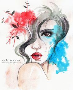 Watercolor by ~sahdesign on deviantART