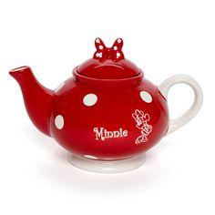 Minnie Mouse Polka Dot Teapot