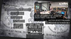 "April 2, 2016 @ Rail Club - ""KNON 20-Year Celebration"" featuring Blackout | Primal Concrete Cowboys | Croma | 3Eighty3 | Chasing Rent"