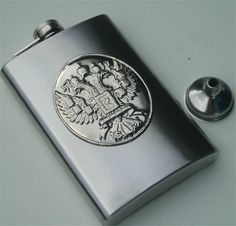 10 oz Liquor eagle style Stainless Steel thicken Hip Flask