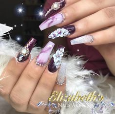 3d Flower Nails, Flower Nail Designs, Fall Nail Designs, Gold Glitter Nails, Nude Nails, Acrylic Nails, Gothic Nails, School Nails, Creative Nails