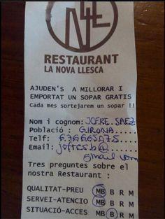 Restaurant Nova Llesca