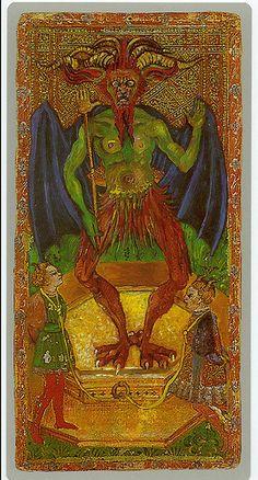 013-El demonio-Cary-Yale Visconti Tarot Deck