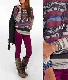 'Comfort and Joy' #buckle #fashion www.buckle.com