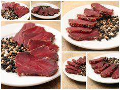 Viande de boeuf sechée façon viande des grisons