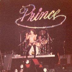vintage Prince, ca 1979-80 tour