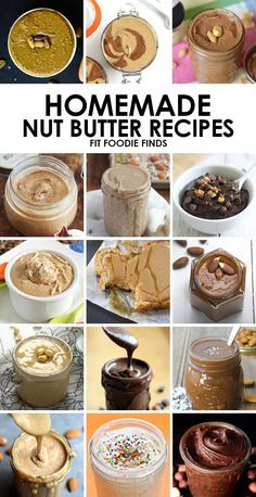 Wondering how to make your own nut butter? Here's 15 homemade nut butter recipes using all different kinds of nuts!