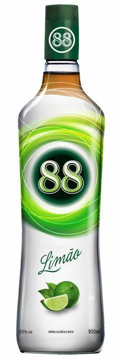 88 Limão cachaca light com sabor da fruta | #packaging #design