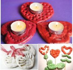 przyjemnezpozytecznym.pl masa Grandparents Day, Tea Lights, Birthday Candles, Valentines, Diy, Diy Crafts, Valentine's Day Diy, Bricolage, Tea Light Candles