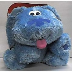 "Blues Clues Jumbo 12"" Blue Plush Doll -- You can find more details by visiting the image link. (This is an affiliate link) #PlushFigures"