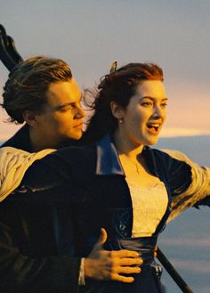 Leonardo DiCaprio and Kate Winslet, Titanic Titanic Movie Poster, Film Titanic, Rms Titanic, Film Movie, Iconic Movies, Classic Movies, Good Movies, Cult Movies, Titanic Leonardo Dicaprio