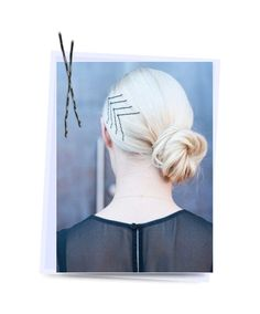 10 Stylish Hairstyles With Bobby Pins  #hairstyles #hairaccessories