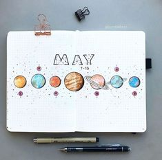 bullet journal hello May