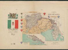 Dalmazia Italiana Cartina.Esodo Istria Dalmazia