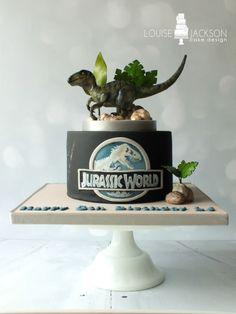 Jurassic World - Cake by Louise Jackson Cake Design - CakesDecor
