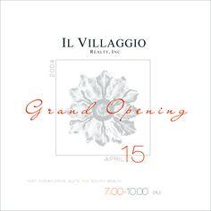 IL Villaggio Realty - Grand Opening event - April 2004