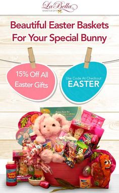 Easter 2015 promotion: 15% discount on all Easter Gifts. Promotion ends 03/27/15
