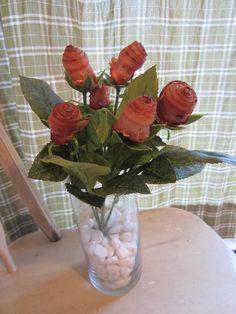 Bacon Roses!