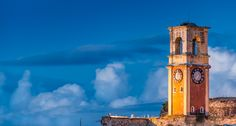 Old Clock  - Corfu Old Fortress - #corfu #corfuisland  #kerkyraisland #kerkyra #ionio #ionianislands #greece #greeceislands #stylianos_photography  #travel #traveller #travelling #traveling #tourism #tourist #landscape #landscapes #photography #photographer #sky #oldfortress #corfuartphoto #olfortresscorfu #corfuounesco #unescocorfu #unescohellas
