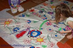 Make homemade napkins with a couple yards of linen fabric and some imagination! Awesome Idea!!