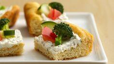 A good recipe for summer! Reduced-Fat Crescent Veggie Pizza Recipe