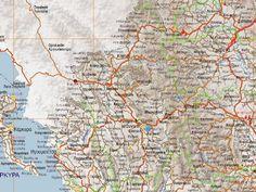 Χάρτης Νομού Ιωαννίνων