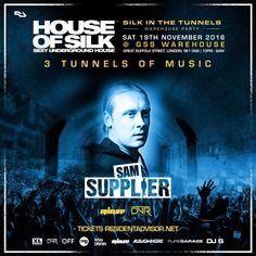Sam Supplier Live : 02:00 - 03:00 @ House of Silk @ GreatSuffolk St - Sat 19th Novemeber by DJ S (House of  Silk) on SoundCloud