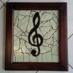 Quadro Mosaico, Clave de Sol