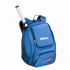 US Open Backpack Tennis Racquet Bag [Blue/Red]