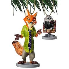 """#Christmas Extra Informations Disney Zootopia """"Nick Wilder & Mr. Big"""" 2 pc Ornament Set for Christmas Gifts Idea Shopping . When shopping for a new Christmas treats, in spite of whether it's for them — you can of which good friend, coworker or perhaps loved one. Yet even at of which, discovering excellent treats for tho..."""