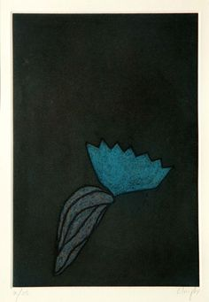 Prunella Clough (1919-1999), Device, 1996. Etching.