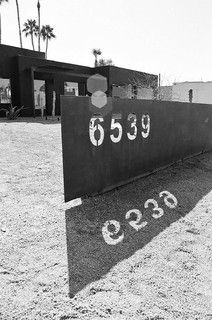 Great house number sculpture