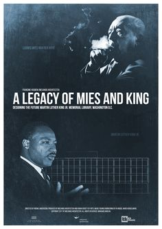 A Legacy of Mies and King Movie - Documentary Poster