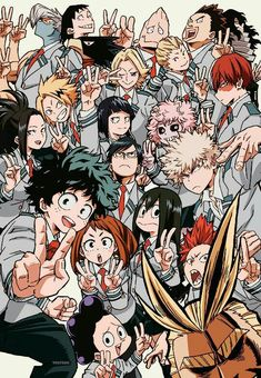 I was't sure if I'd like My Hero Academia at first, but I gave it a chance and ohmygosh I'm so glad I did!!!!