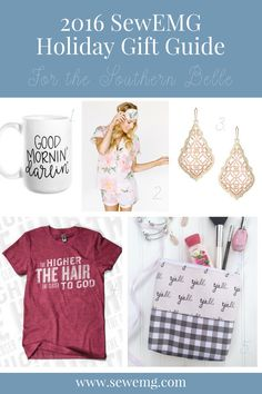 SewEMG Gift Guide- Holiday Gift Guide for the Southern Belle, Southern living gift guide