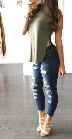 Fashion Outfits Super Style Casual Outfits 2019 Very Nice Amazing Tips Fashionable Cute Outfits For Teens for daily fashion & lifestyle updates of myself Mode Outfits, Jean Outfits, Fall Outfits, Casual Outfits, Fashion Outfits, Womens Fashion, Fashion Trends, Fashionable Outfits, Jeans Fashion