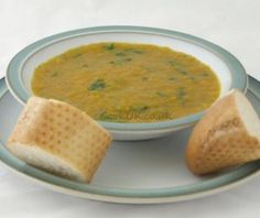 Carrot and Coriander Soup - CookUK Recipes