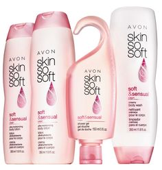 SKIN SO SOFT Soft & Sensual – boosts skin's overall hydration, and restores skin's essential moisture. Now with Argan Oil. Experience lush florals and jasmine. Collection includes:  2 Ultra Moisturizing Body Lotions Each, 11.8 fl. oz. An $8 value each.  Shower Gel 5 fl. oz. A $6 value.  Creamy Body Wash 11.8 fl. oz. A $7 value.