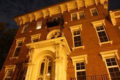 The former Enos Sanitarium in Alton, IL - now a haunted apartment building!