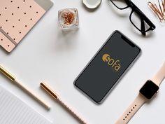 Iphone X On Desk Free Mockup Download by Claudiu Fagadar