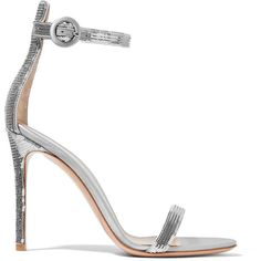 Gianvito Rossi Portofino sequined satin sandals ($405) ❤ liked on Polyvore featuring shoes, sandals, heels, sapato, high heeled footwear, high heels sandals, high heel stilettos, ankle strap stilettos and thin strap sandals