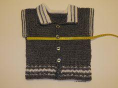 Crochet Boys Vest Children's Sweater vest 3 to 5 by ladybird113