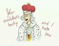 King George is the Sassmaster