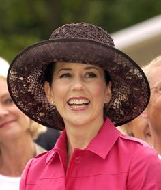 2004--Crown Prince Frederik Crown Princess Mary Of Denmark Visit Aarhus During A 4Day Trip On The Royal Yacht Dannebrog