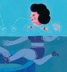 מרב סלומון . Merav Salomon . שיחה על לימודי האיור בבצלאל http://israeli-illustration.blogspot.co.il/2014/12/studies.html#merav