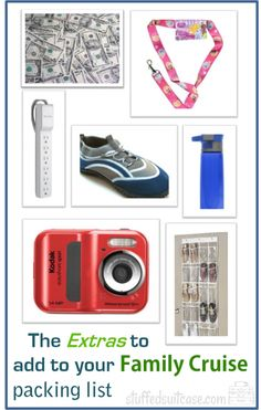 Family Cruise Packing List - Remember to pack these items! StuffedSuitcase.com travel vacation tip