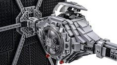 LEGO Star Wars toy includes a TIE Fighter Pilot minifigure with a blaster pistol Features an opening top hatch; includes a display stand and informative fact plaque The perfect flagship model for fans of Star Wars and LEGO brick building