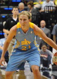 457eb2705f1 Courtney Vandersloot Ready To Lead the Chicago Sky. Women's BasketballWnba AthletesChicagoGirls Basketball